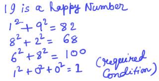 Happy number
