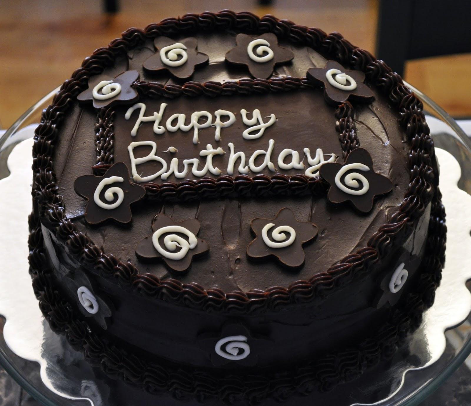 Chocolate Birthday Cake Birthday