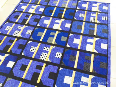 Chelsea Football Club loving fan Quilt made by Penny