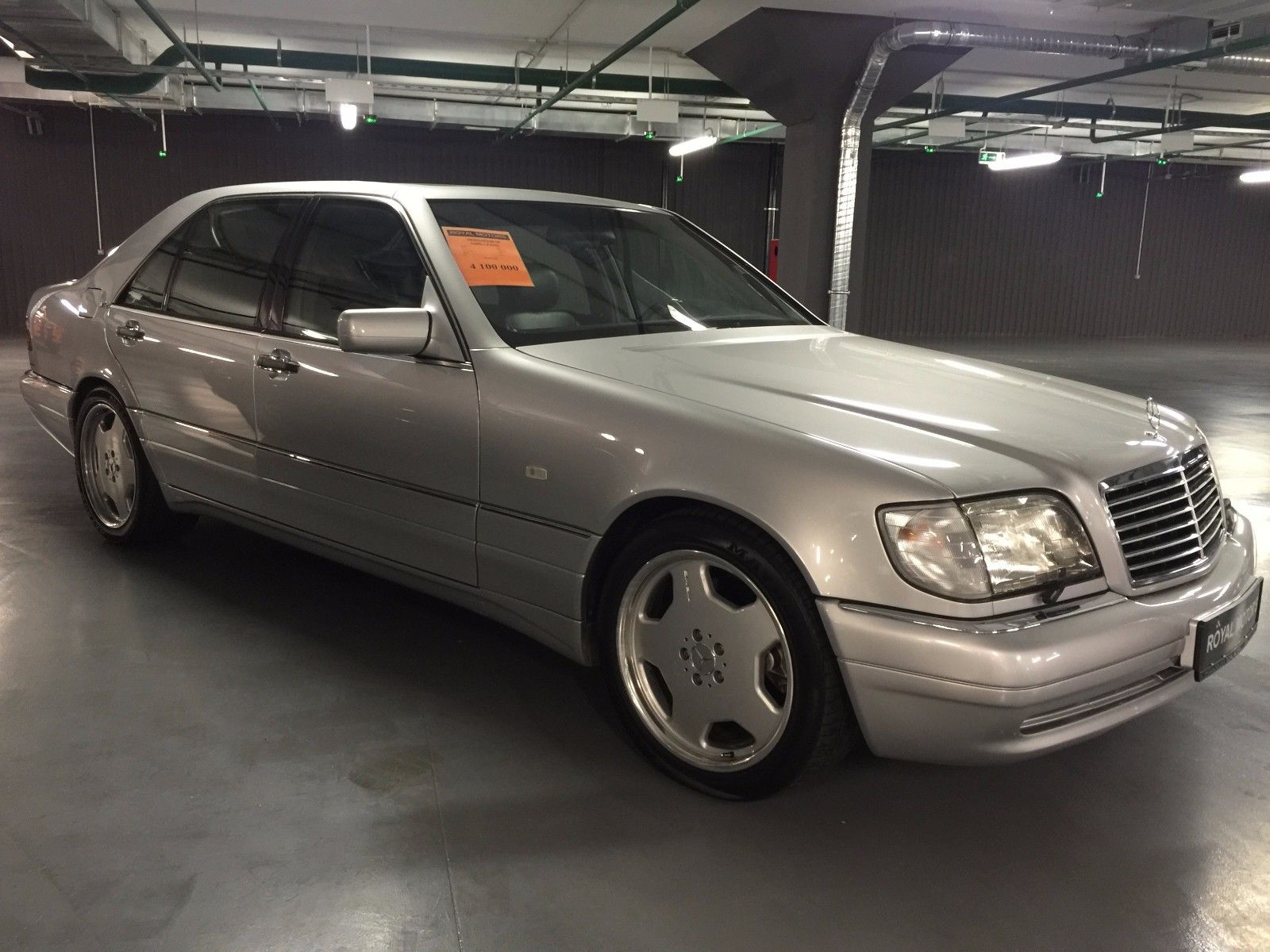1996 mercedes benz v140 s600l 7 0 amg benztuning for Mercedes benz s 600 amg