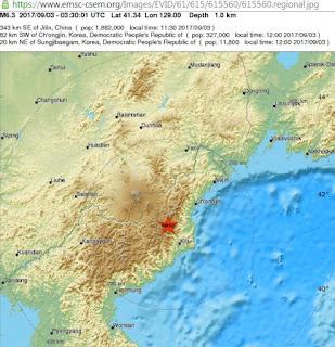 North Korea exploded 100-kiloton bomb, risking disaster