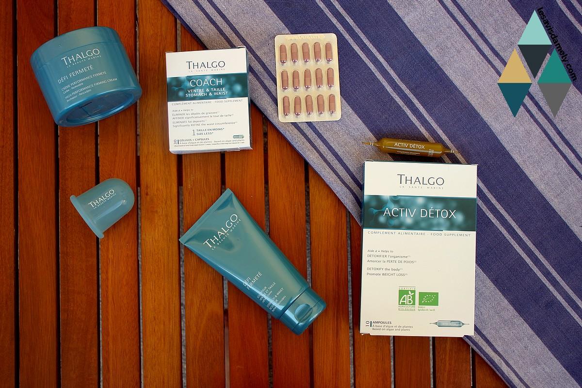 avis et test cure fermeté minceur thalgo beauté marine