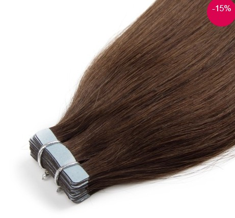 20pcs 50g Straight Tape In Hair Extensions -Price:$50.99