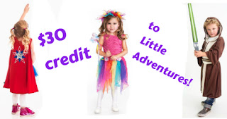 30 GIVEAWAY LITTLE ADVENTURES