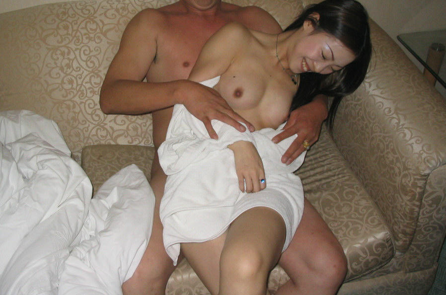 Nude mom in stocking