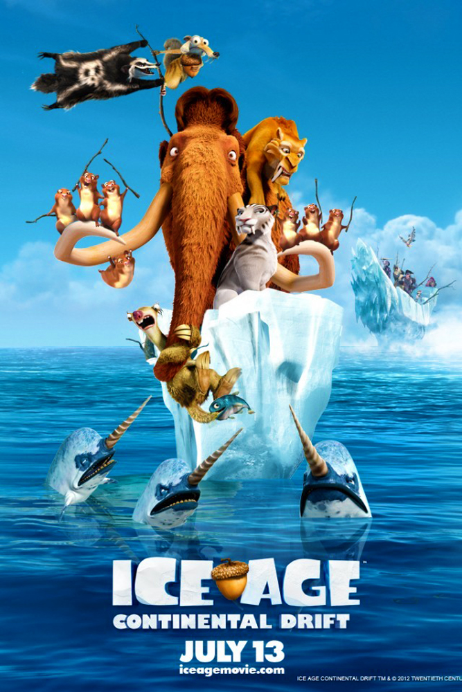 Review Filem Ice Age 4 : Continental Drift