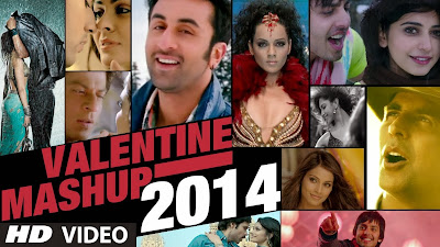 Valentine Mashup By Kiran kamath (2014) Full Music Video Song Free Download And Watch Online at worldfree4u.com
