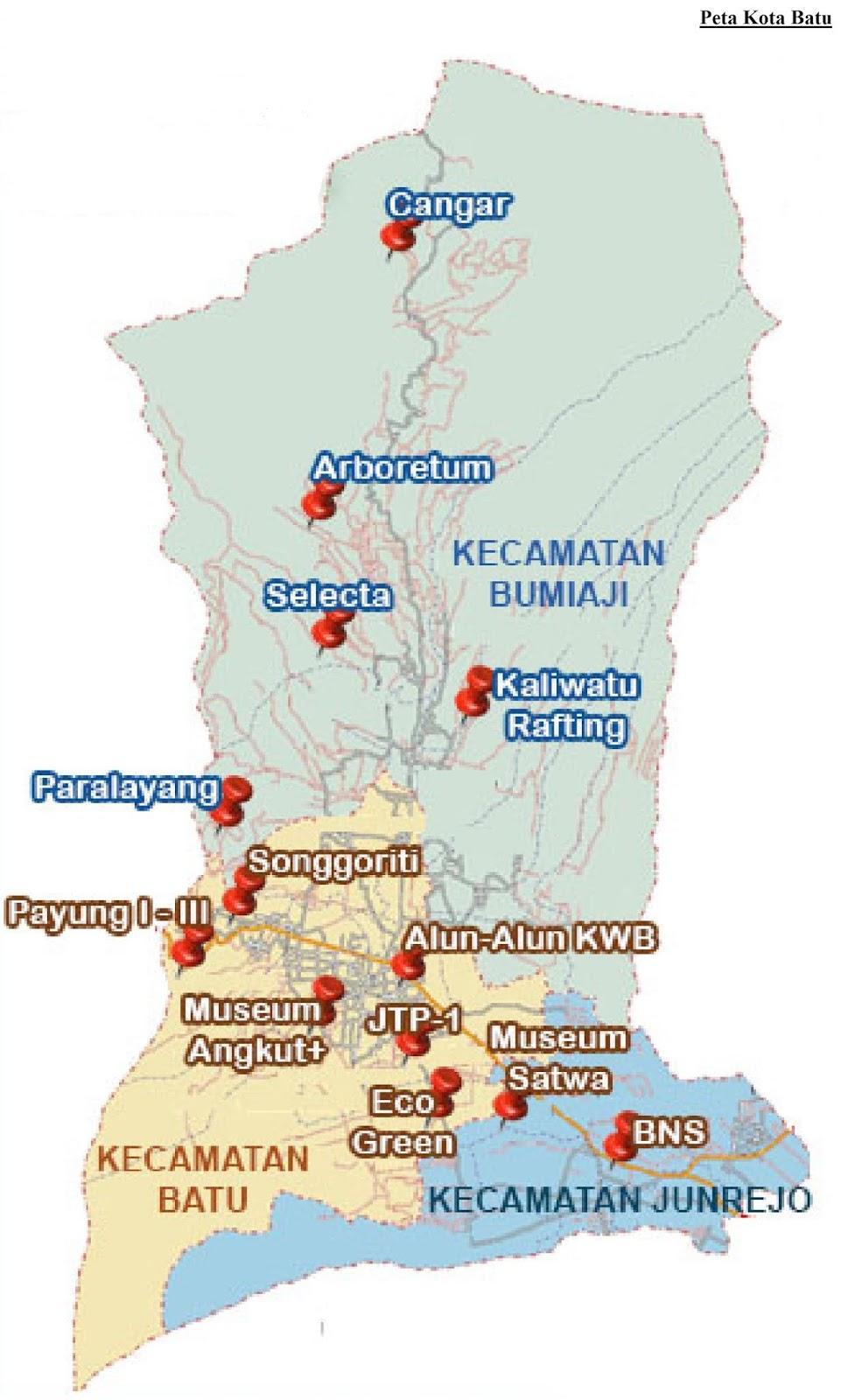 Peta Kota Batu