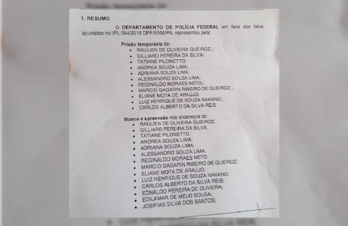 Vaza nome dos investigados na operação Ábaco da Polícia Federal em Itaituba