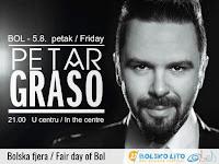 Koncert Petar Grašo, fjera Bol slike otok Brač Online