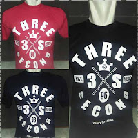 kaos 3second, kaos 3second terbaru, kaos 3second bandung, kaos 3second original