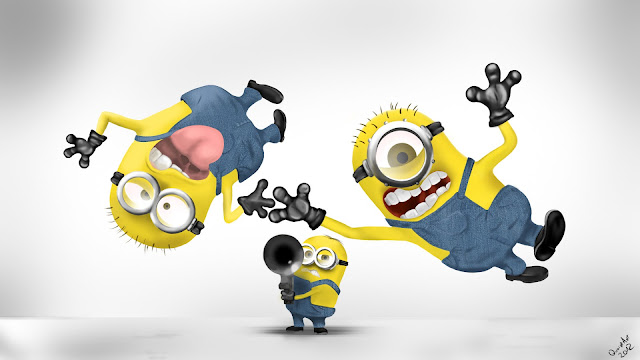 Despicable Me Cute Minions Desktop Wallpapers