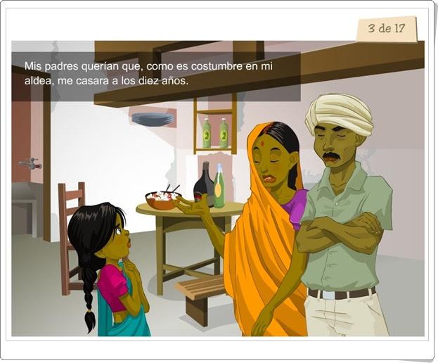 """Día Mundial de la Educación (1 de abril): """"La historia de Lalita"""" (Unicef)"""