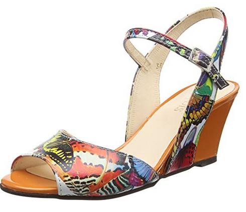 Mode et tendance chaussures femme été 2018 : les sandales compensées