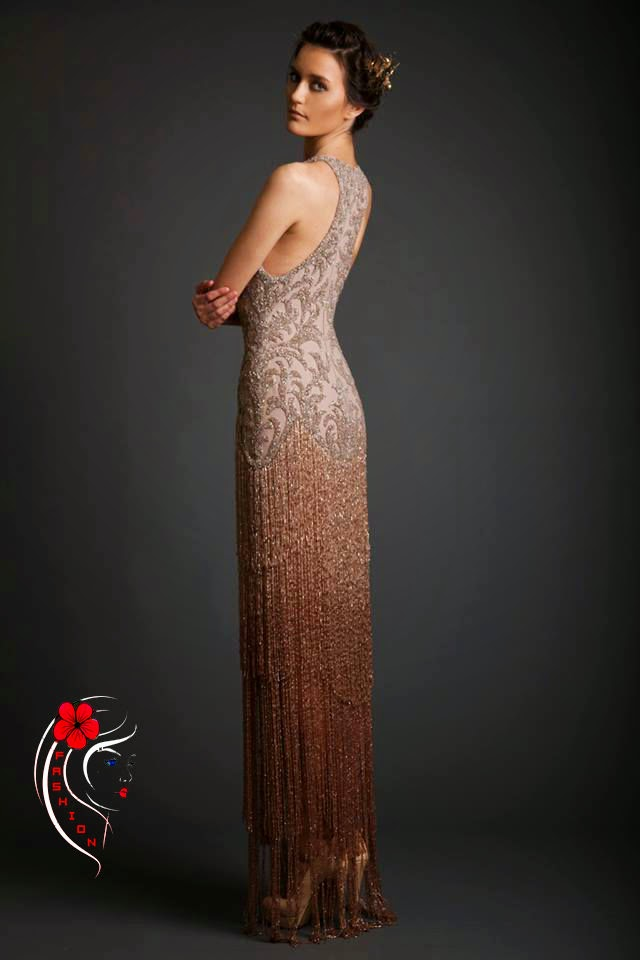 b15724b35 من فساتين السهرة الرائعة 2014 وأخبرينا برأيك نحوها . المصمم , اللبناني ,  كريكور , جابوتيان , عالم , الأزياء ' مصممي . لبنان ,