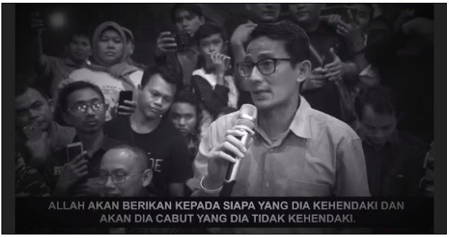 [Video] Tak Disangka, Sandiaga Berpidato Layaknya Singa Podium