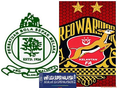 Live Streaming Melaka United vs Kelantan Liga Super 3 Februari 2018