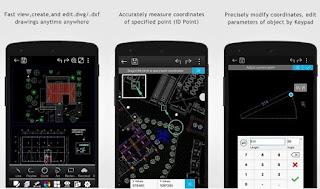 Berbagai produk dari perangkat android dikala ini sudah banyak mendukung software desain gr Rekomendasi Aplikasi Autocad Android Terbaik dan Gratis