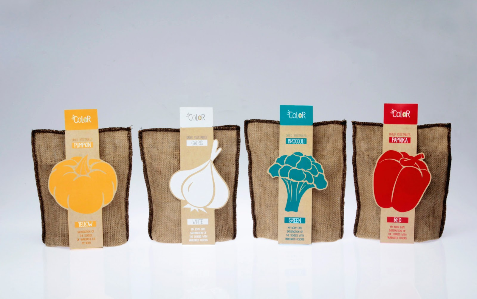 Eat Color Student Project On Packaging Of The World