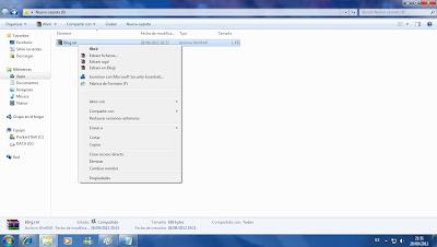 tutorial como abrir y descomprimir con Winrar un archivo comprimido rar