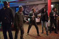 Krysten Ritter, Finn Jones, Charlie Cox, Mike Colter and Scott Glenn in The Defenders Series (11)