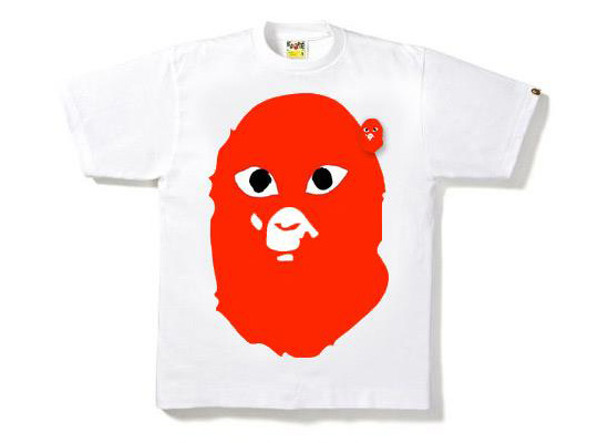 273fe3f4a A Bathing Ape x Comme Des Garçons PLAY Collection - First Look | Up ...