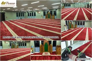 Karpet Sajadah Minimalis, Karpet Masjid Turki, Sajadah Import