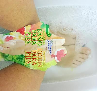 my7thheaven, montagne jeunesse, 7th heaven, mascarilla para pies, mascarilla, pomelo y menta, viernes de spa,