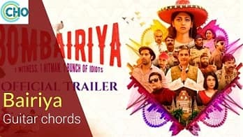 BAIRIYA Guitar chords Accurate | Bombairiya | Arko