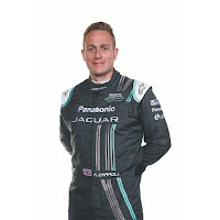 Panasonic Jaguar Racing Driver Adam Carroll