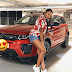 Temi Otedola receives a red Range Rover as an early graduation present from her parents