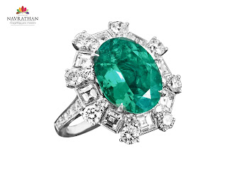Navrathan Jewellers unveils an array of Emerald Jewellery Collection