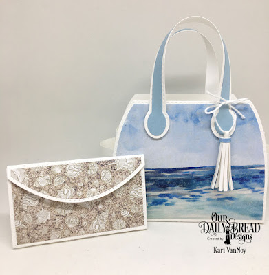Our Daily Bread Designs Custom Dies: Timeless Tote, Timeless Totes Layers, Petite Pocketbook Paper Collection: By the Shore