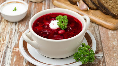 Các món ăn hấp dẫn đừng bỏ lỡ khi đến Nga