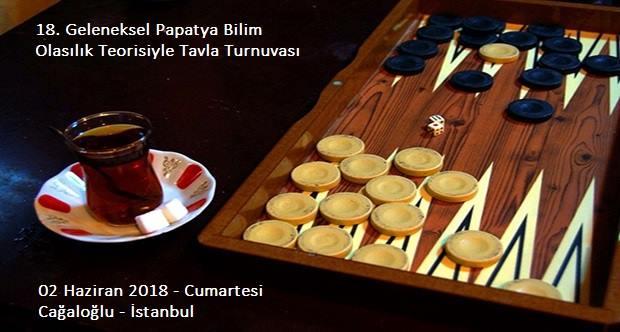 18.Geleneksel Papatya Bilim Festivali Olasılık Teorisiyle Tavla Turnuvası