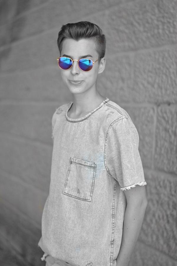 foto in schwarz weiß