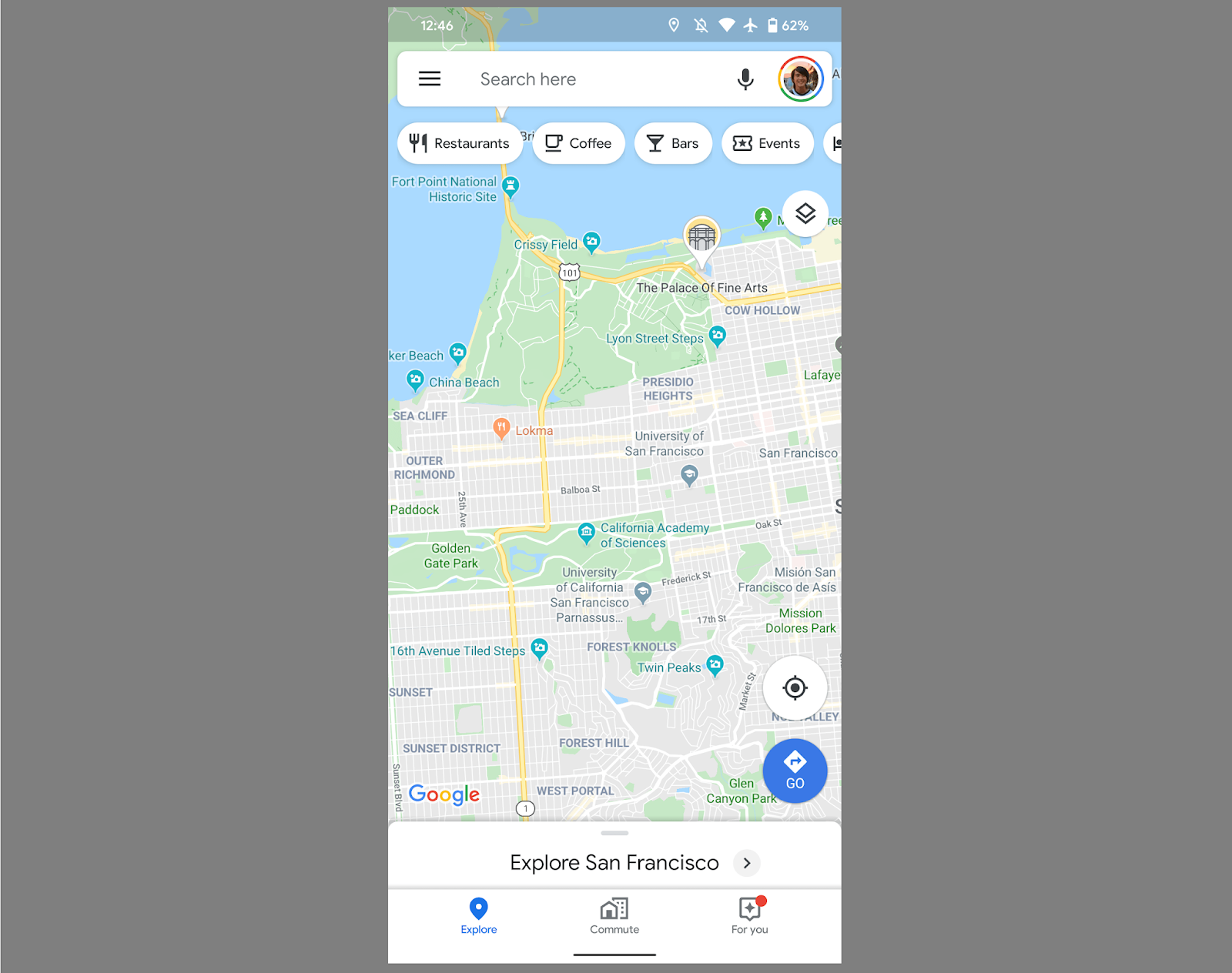 Google Maps Adds Carousel Of Shortcuts On Its Android App