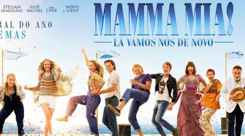 No Filme Mamma Mia! Lá Vamos Nós de Novo (2018) – Torrent BluRay