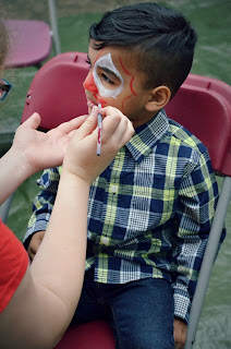 turning mommy birthday party face painting par-t-perfect