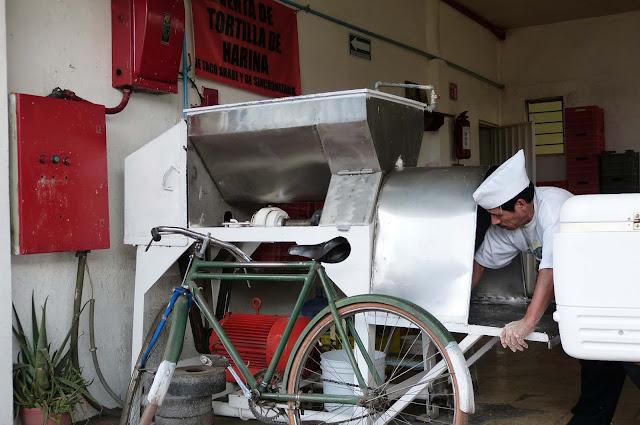Tortillería en Cholula - Puebla - México