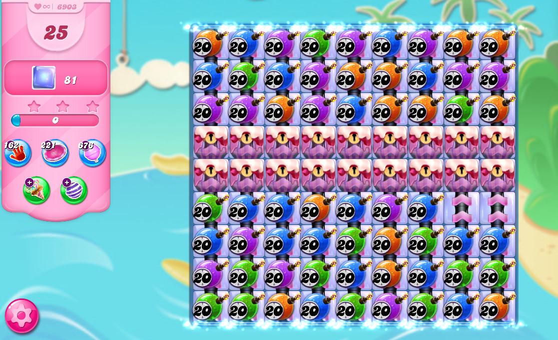 Candy Crush Saga level 6903