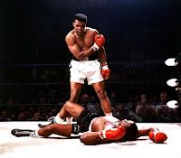 Muhammed Ali Liston Hayalet Yumruk ile nakavt