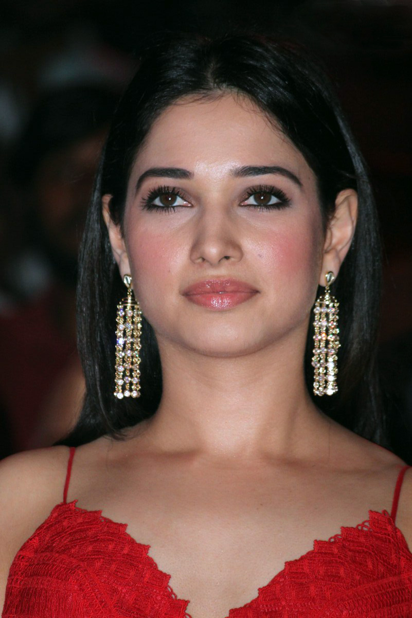 Tamanna Photos In Red Gown