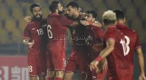 بهدفين لهدف منتخب سوريا يفوز على منتخب الصين في تصفيات آسيا المؤهلة لكأس العالم 2022