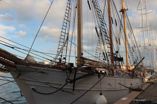Copenhagen Denmark, tall ship