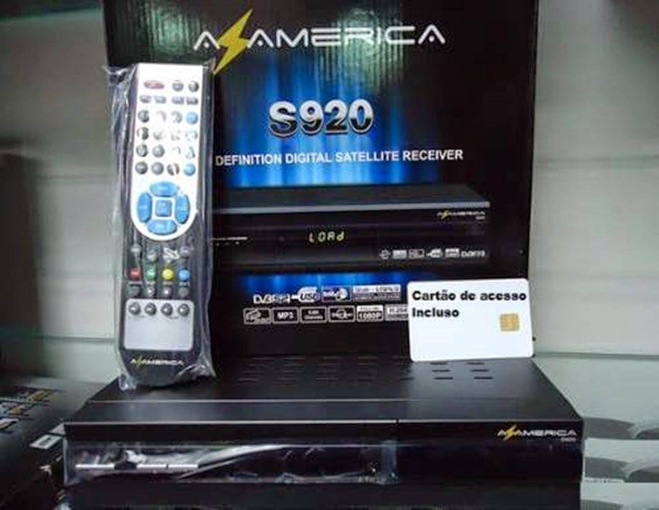 AZAMERICA - AZAMERICA S920 NOVA ATUALIZAÇÃO MODIFICADA 11