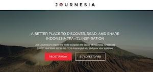 Journesia: Tempat Yang Cocok Buat Kamu Yang Hobi Traveling Dan Nulis