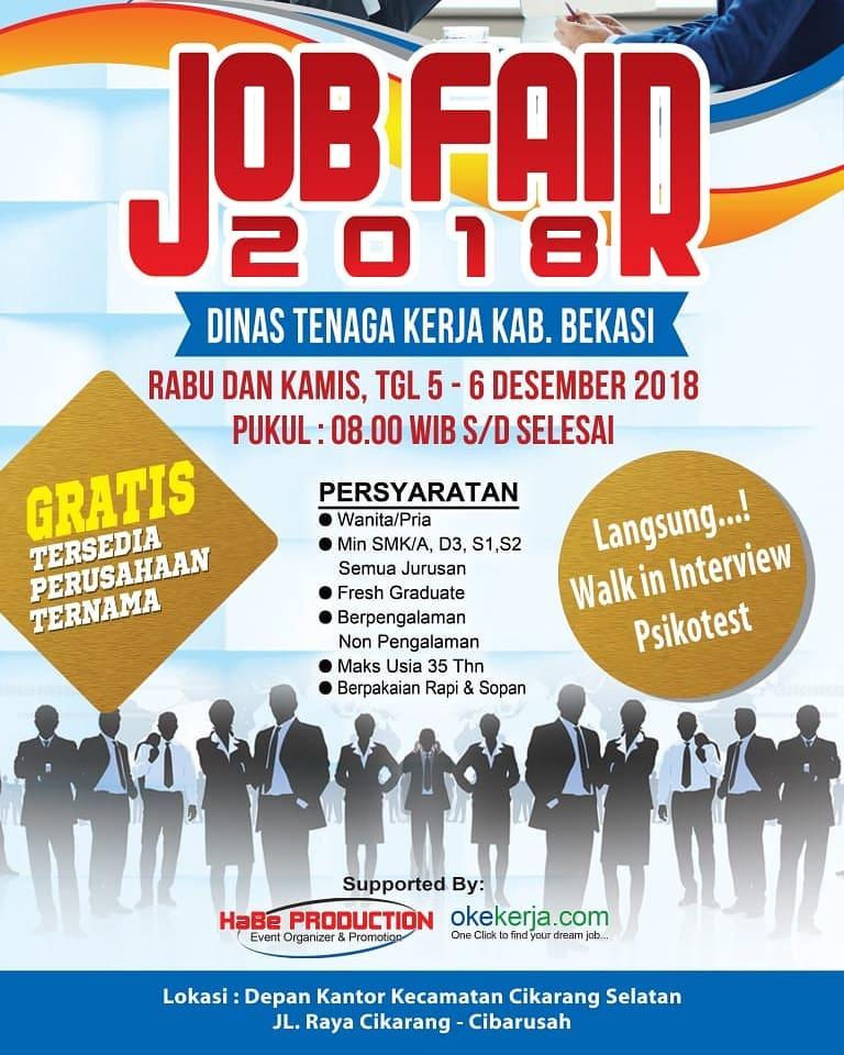 Job Fair Bekasi Jawa Barat Lowongan Kerja Terbaru Indonesia 2020