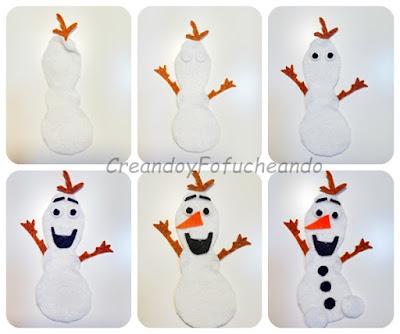 Olaf-en-fieltro-paso-a-paso-creandoyfofucheando
