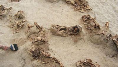 Kerangka anak-anak yang ditemukan